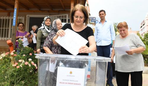 ÇİĞLİ'DE YEREL DEMOKRASİ İŞLİYOR