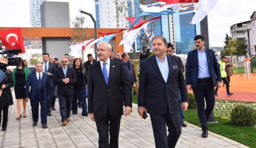 CHP MALTEPE'DE ALİ KILIÇ İLE DEVAM DEDİ