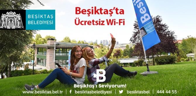 BEŞİKTAŞ'TA İNTERNET'E ERİŞİM DEVRİMİ