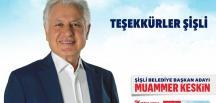 ŞİŞLİ MUAMMER KESKİN'E EMANET