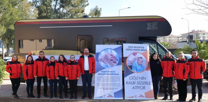 ÇİĞLİ'DEN ELAZIĞ'A ÖZEL HİZMET!