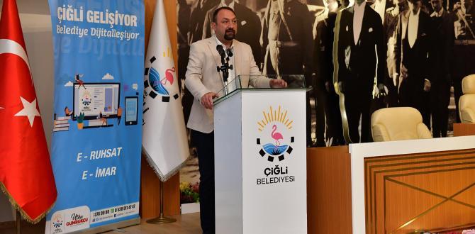"""ÇİĞLİ'DE """"E-BELEDİYE"""" DÖNEMİ"""
