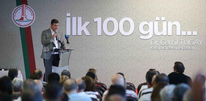 KARŞIYAKA'DA İLK 100 GÜN