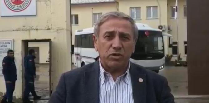 YILDIRIM KAYA EREN ERDEM'İ ZİYARET ETTİ