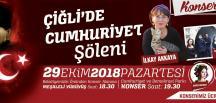 ÇİĞLİ CUMHURİYET'İ KUTLUYOR
