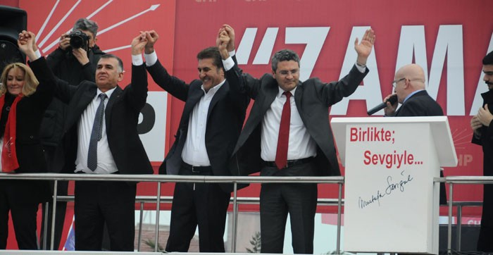 Mustafa Sarıgül CHP Bakırköy Mitinginde