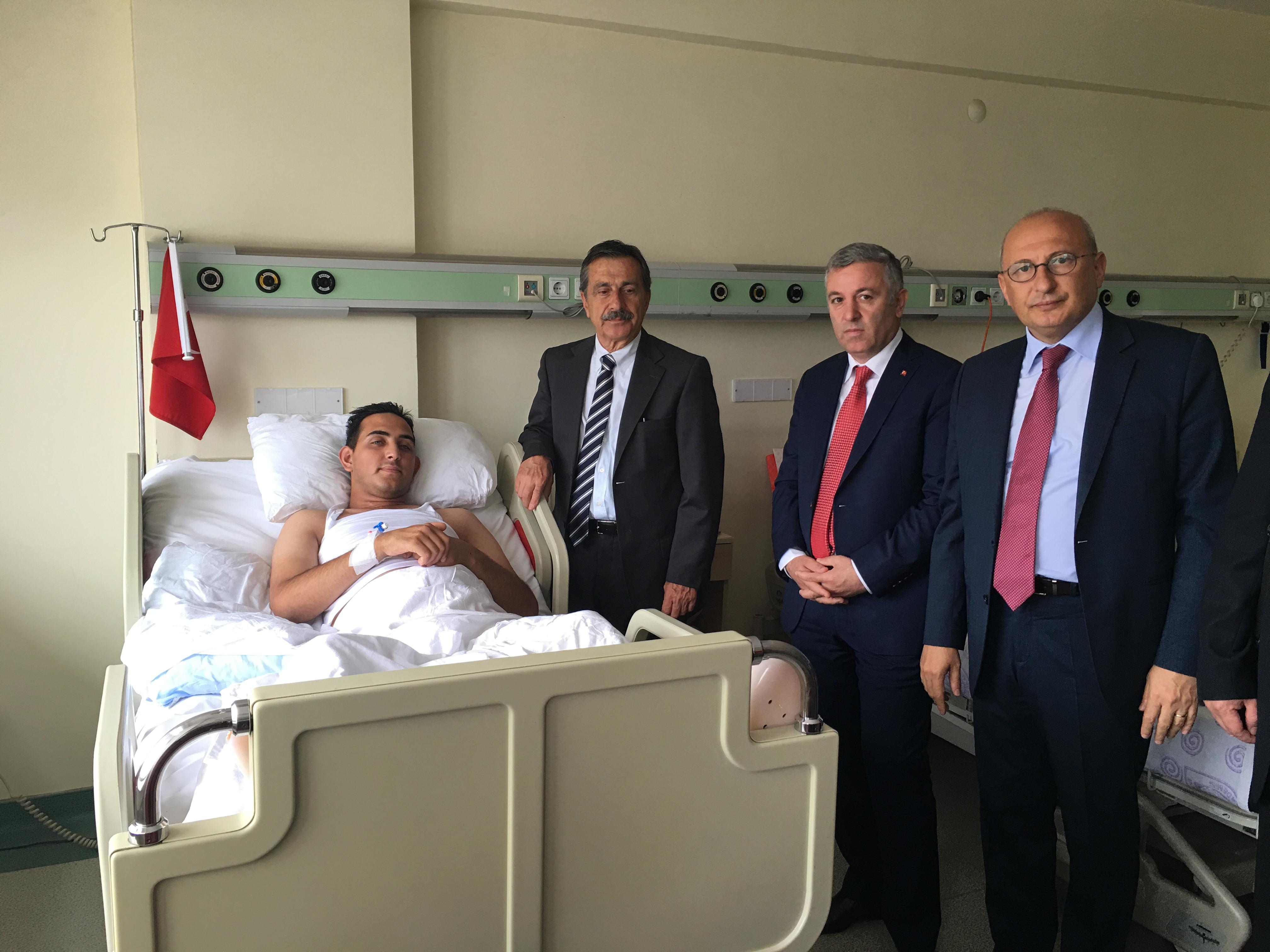 CHP'LİLERDEN GATA'YA ZİYARET