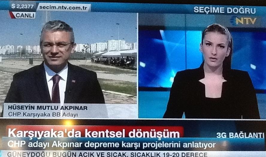 AKPINAR NTV'DE PROJELERİNİ ANLATTI