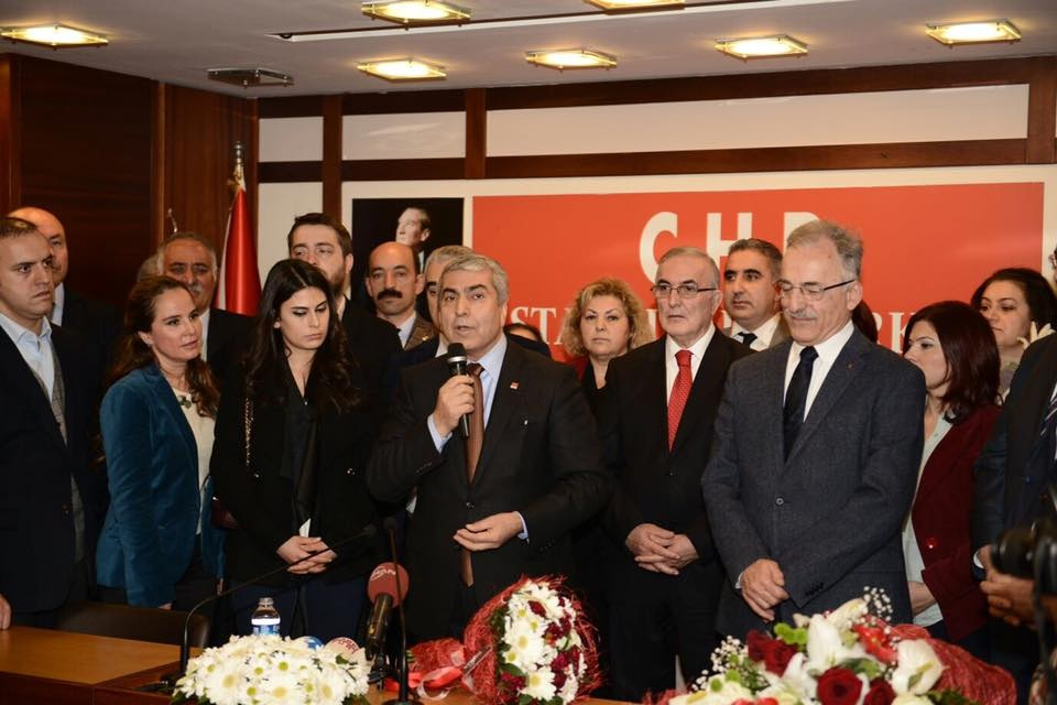 CHP İSTANBUL'DA CANPOLAT DÖNEMİ