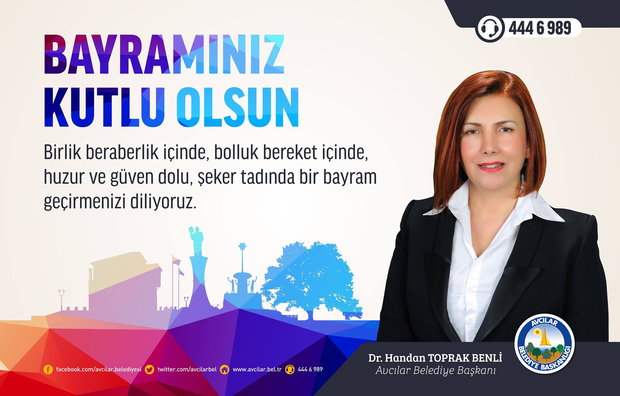 HANDAN TOPRAK'TAN BAYRAM KUTLAMASI