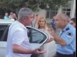 POLİSTEN MİLLETVEKİLİNE SAYGISIZLIK