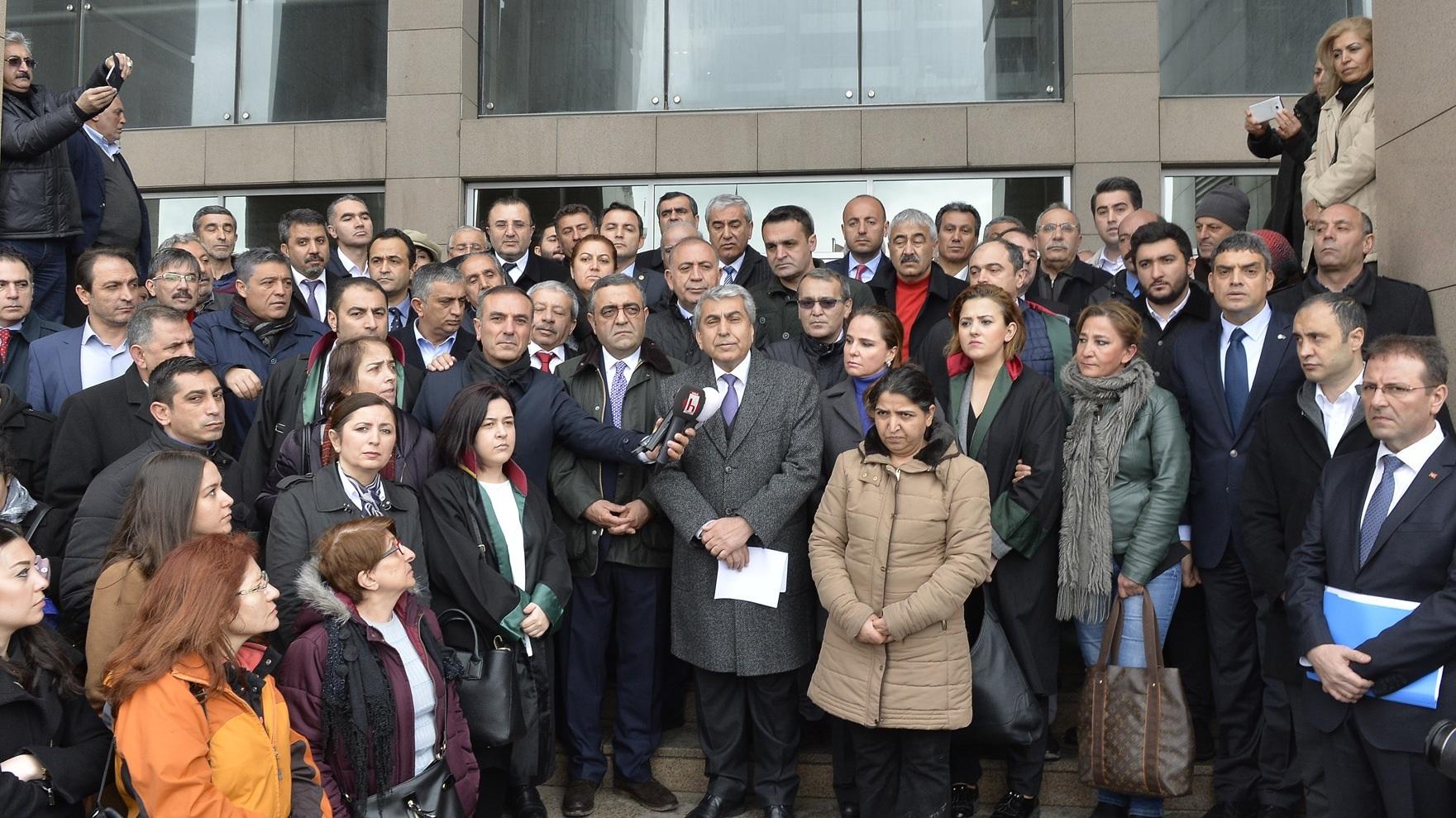 CHP İSTANBUL'DAN SUÇ DUYURUSU