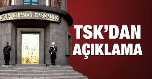 TSK'NIN AÇIKLAMASINDAKİ AYRINTI