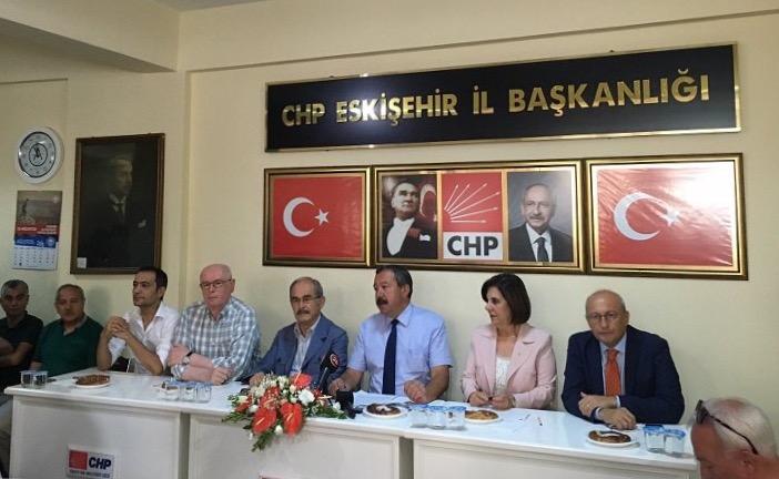 CHP ESKİŞEHİR'DEN SALDIRI TEPKİSİ