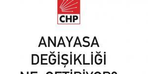 CHP BROŞÜRLE ANLATTI