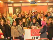 CHP'Lİ KADINLARDAN ŞİDDETE TEPKİ