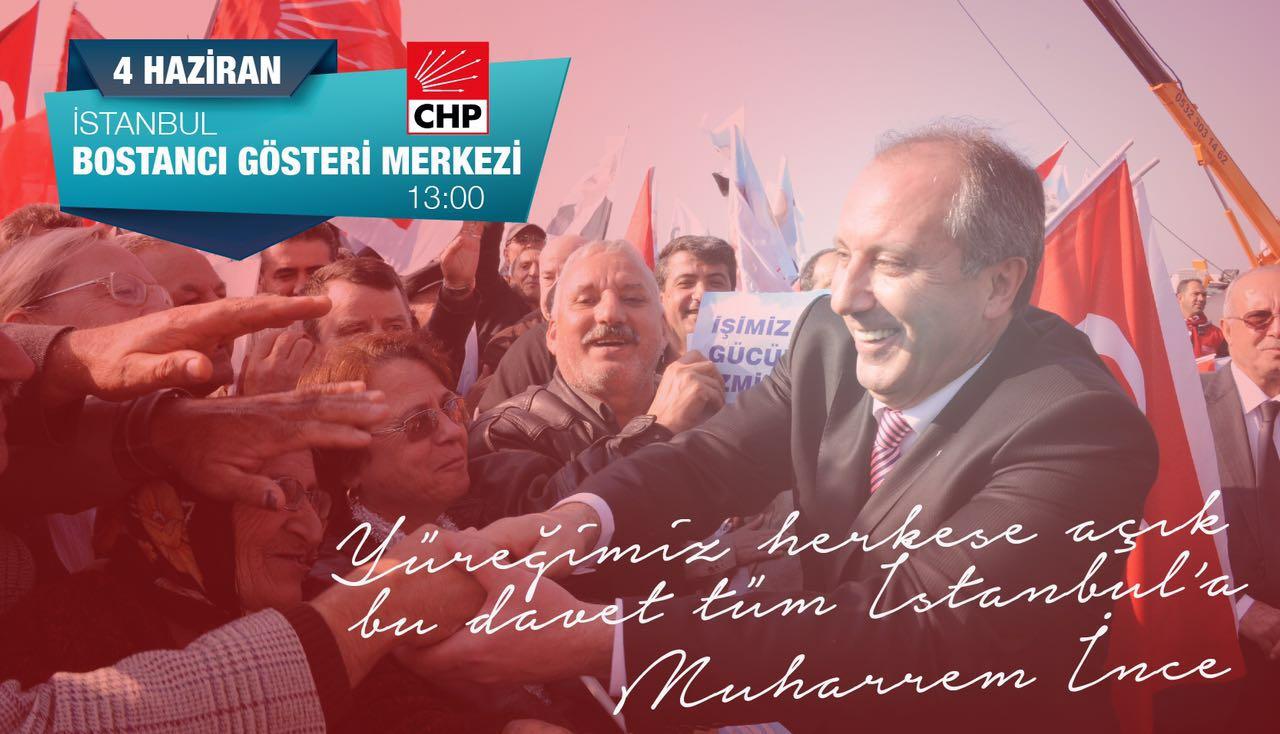 MUHARREM İNCE İSTANBUL'A GELİYOR